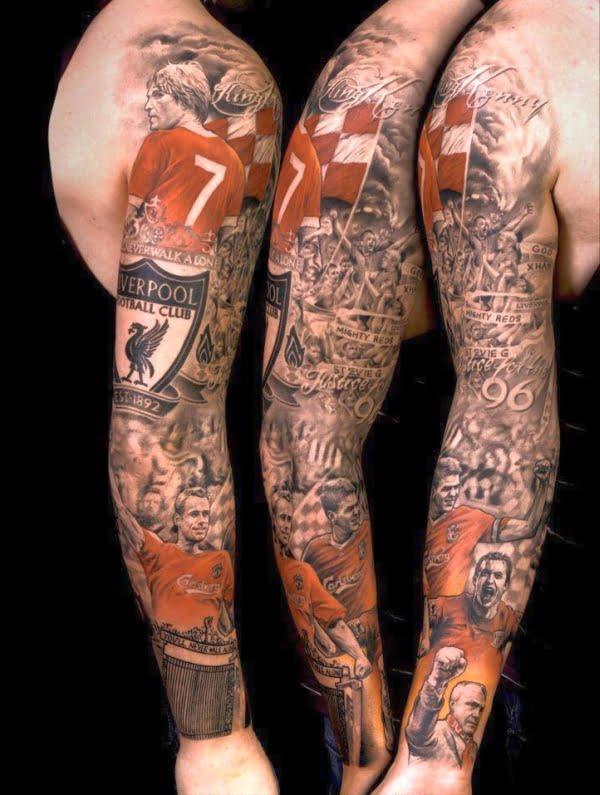 Tatuaż Liverpool FC