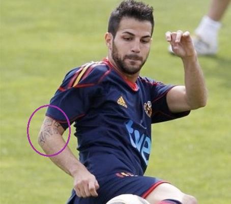 2. Cesc Fabregas (Hiszpania)