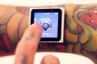 iDermal - iPod nano na rękę