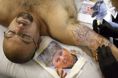 03 - Jan Paweł II tatuaż / John Paul 2 tattoo