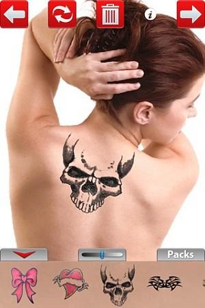 Tattoo You - aplikacja App Store - zrzut ekranu