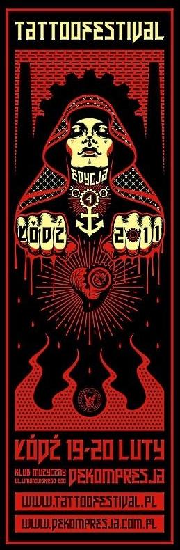 plakat Tattoofestival Łódź 2011