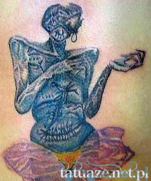 Zdzisław Beksiński: tatuaż nr 7