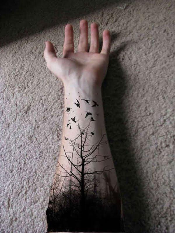 Jaki Tatuaż Na Przedramieniu 30 Wzorów Tatuazenetpl