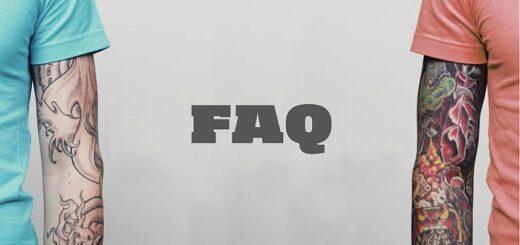FAQ tatuaże, czyli nurtujący nurt