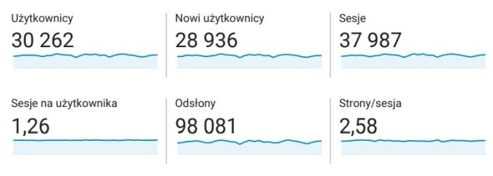 Statystyki bloga ze stycznia 2021