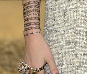 Chanel tattoo 3