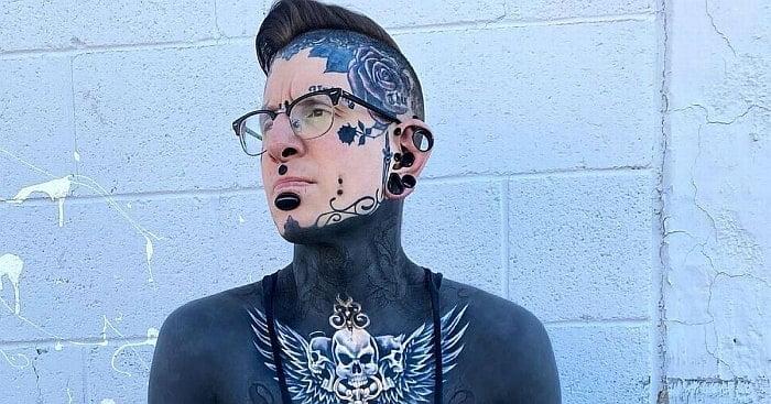 BM (bodmod): Fan ekstremalnych modyfikacji ciała pokazują, jak wyglądał przed metamorfozą