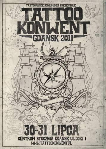 plakat - Gdańsk Tattoo Konwent 2011