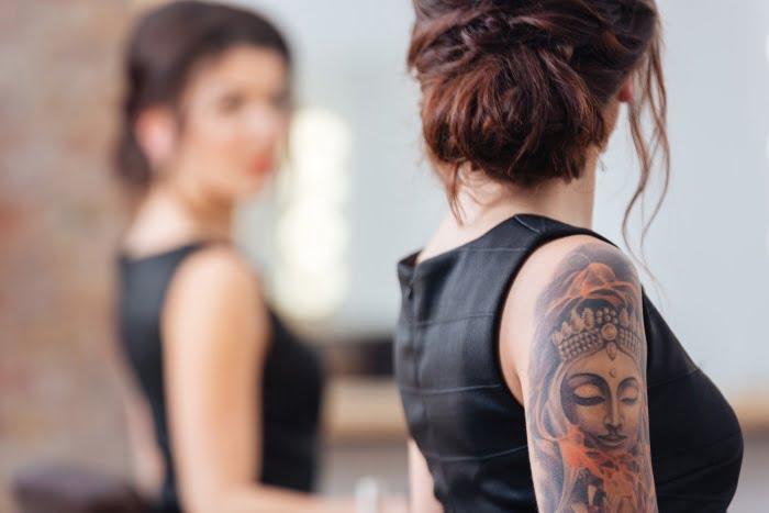 Tatuowanie nie boli
