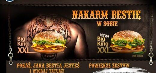 Pokaż jaką bestią jesteś - Burger King