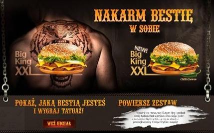 Konkurs Burger King