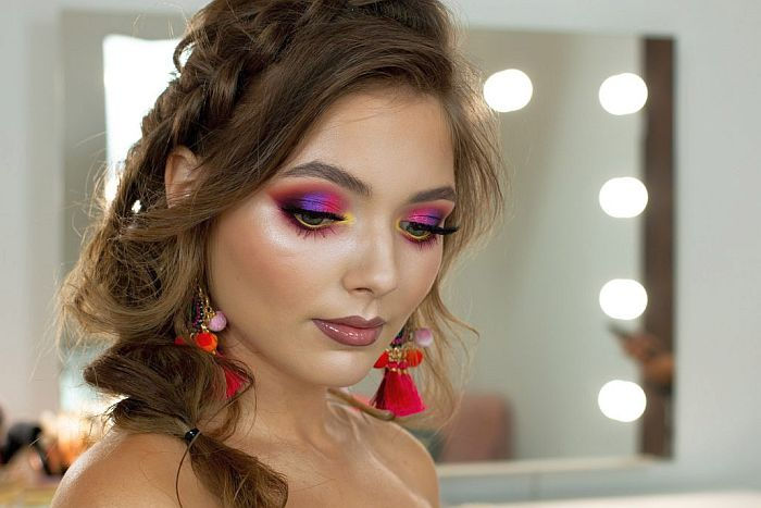 Profesjonalny makijaż / Pudrovane