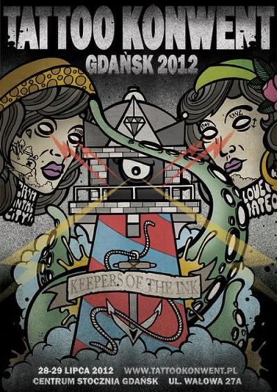plakat - Gdańsk Tattoo Konwent 2012