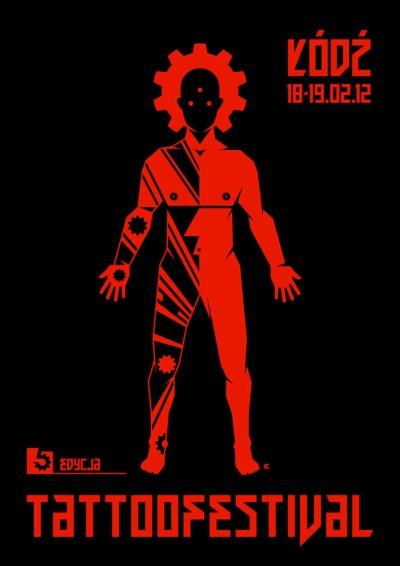 plakat - TattooFestival Łódź 2012