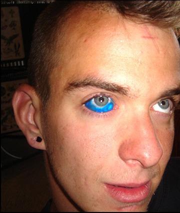 Tatuaż na oku