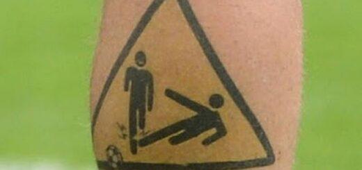 Daniele de Rossi tatuaż EURO 2012