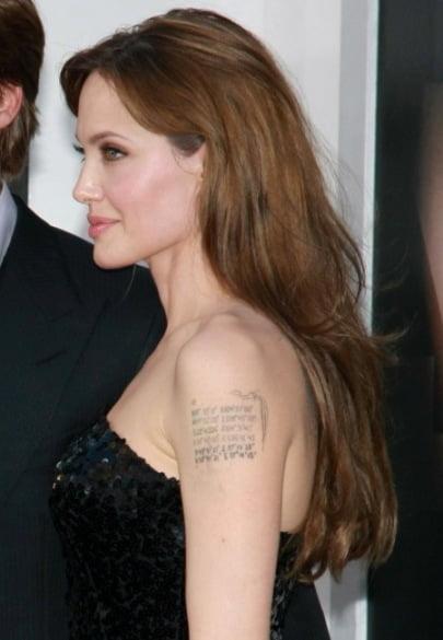Top 5 Celebrytów Znanych Z Tatuaży Tatuazenetpl